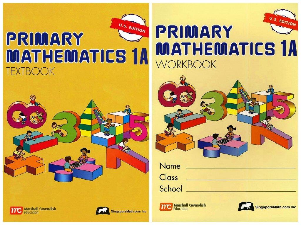 Workbooks primary mathematics workbook : Primary Mathematics 1A SET--Textbook and Workbook: Singapore Math ...