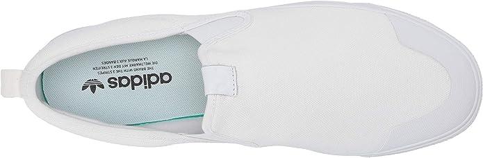 adidas Originals Mens Nizza Slip On Pump, FTWR White, 12 M ...