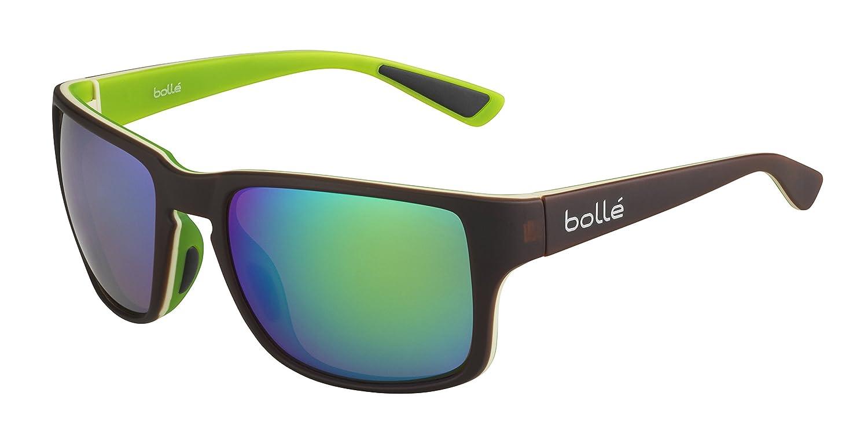 Bollé Erwachsene Slate Sonnenbrille, Matt Black, Medium