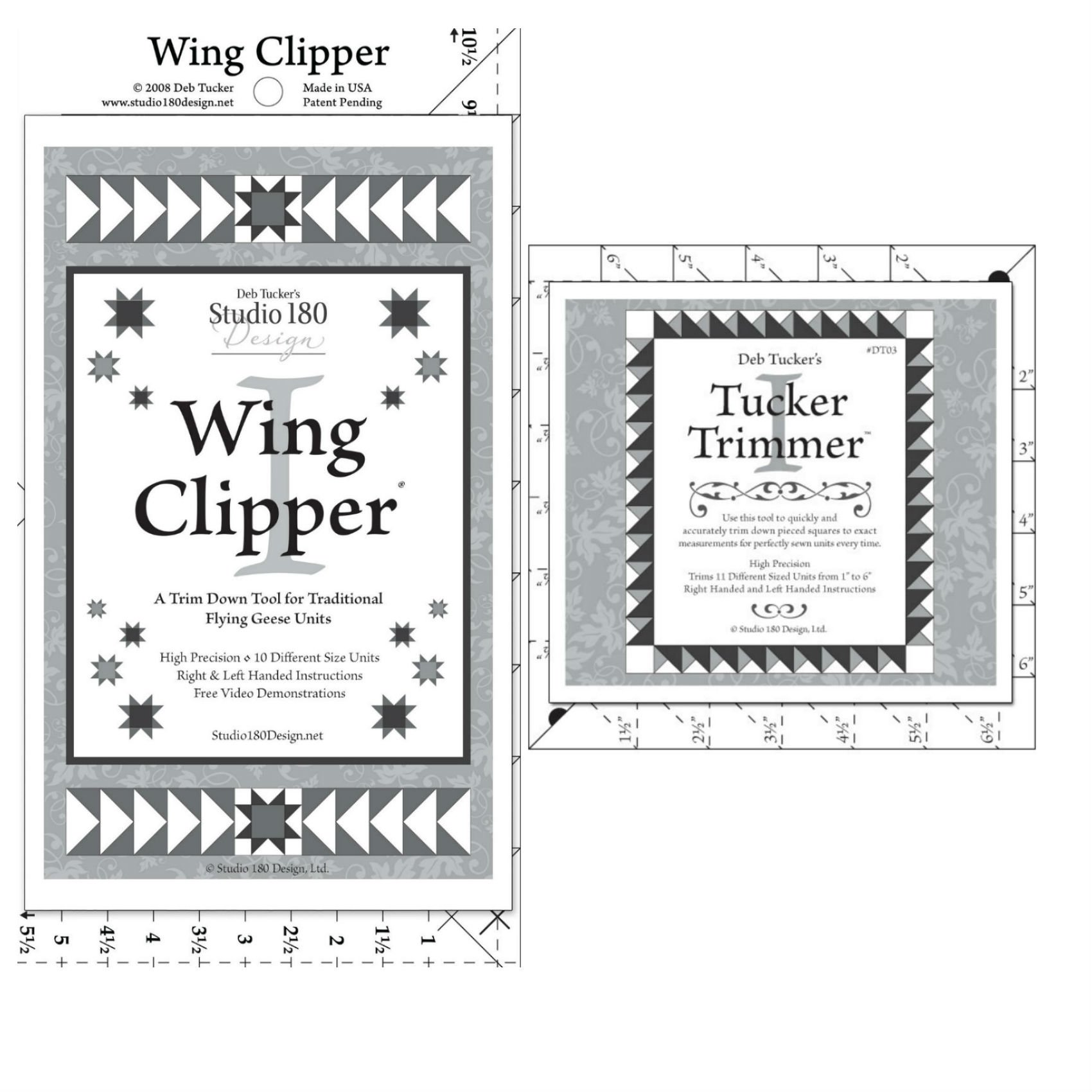 Studio 180 Design Wing Clipper 1 & Tucker Trimmer 1 by Candlewood Gifts