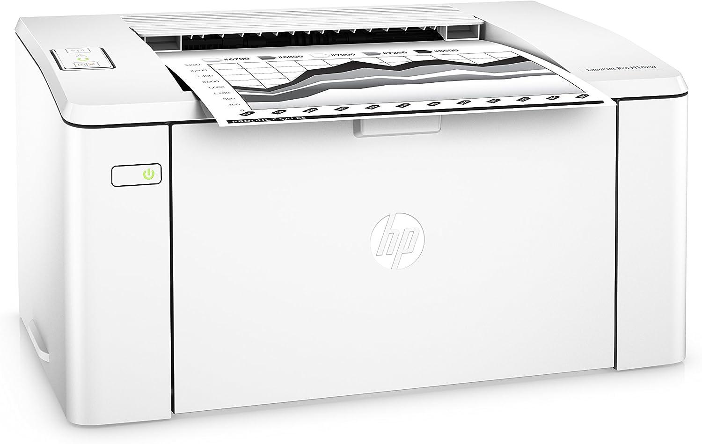 HP LaserJet Pro M102w Wireless Laser Printer, Amazon Dash Replenishment ready (G3Q35A). Replaces HP P1102 Laser Printer, White