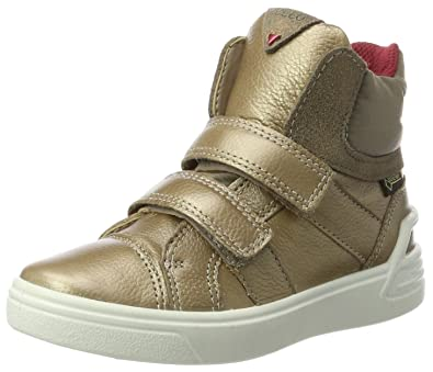 new product 2869c a03d2 ECCO Mädchen Ginnie Hohe Sneaker