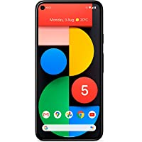 Google Pixel 5 5G (2020) GTT9Q 128GB (GSM | CDMA) Factory Unlocked Android Smartphone (Just Black) - International…