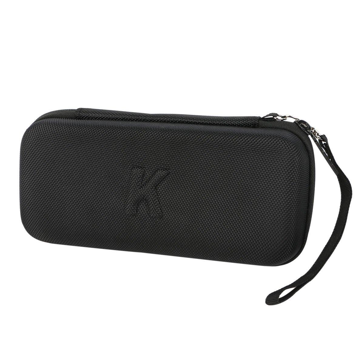Khanka Hard Travel Case for RAVPower Portable Charger RAVPower 22000mAh Portable Phone Charger 22000 Power Bank 5.8A Output 3-Port Battery Packs (Black)