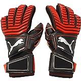 PUMA Mens One Finger Protect 18.1 Hybrid Goalkeeper Gloves For Soccer