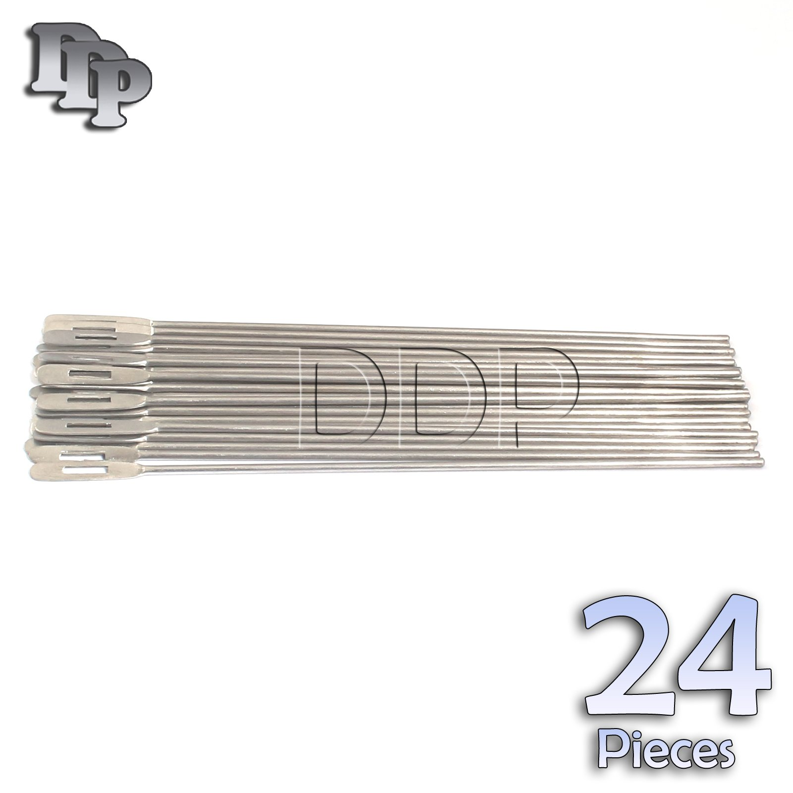 DDP SET OF 24 STAINLESS STEEL PROBE WITH EYE 6''