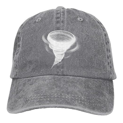 Gorgeously Tornado Denim Baseball Caps Hat Adjustable Cotton Sport Strap Cap  For Men Women at Amazon Men s Clothing store  f00e42879f1d