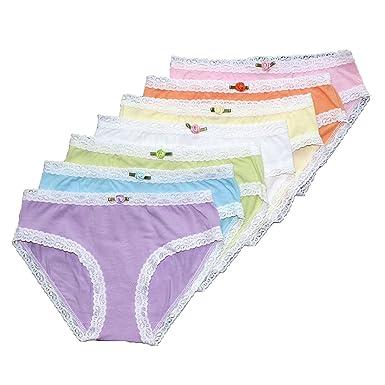 1d3800f9ed8097 Esme Girl's Panty-XS 2-3- 7 Day Rainbow Panty (7PCs)