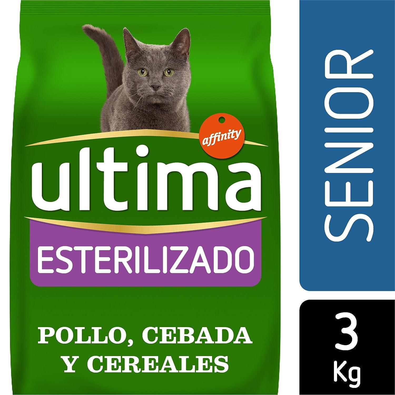 Ultima Pienso para Gatos Esterilizados Senior +10 Años con Pollo: Amazon.es: Productos para mascotas