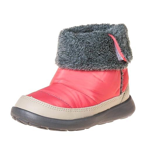 Girl/'s Winter Boots Little Blue Lamb Infant Toddler Fleece /& Nubuck Purple