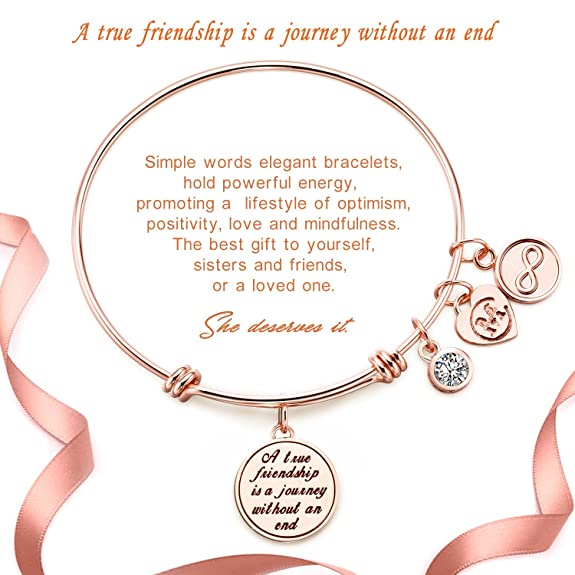 Amazon A True Friendship Is A Journey Without An End Womens