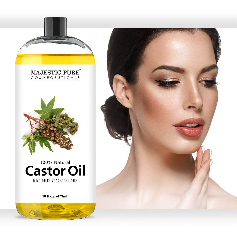 Amazon.com: Aceite de ricino para cabello de Majestic Pure ...