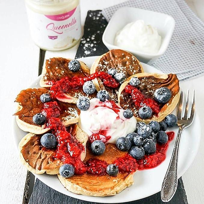 GymQueen Mezcla para preparar tortitas proteicas, Pancake Mix - Tortas proteícas, 500 gr.: Amazon.es: Alimentación y bebidas