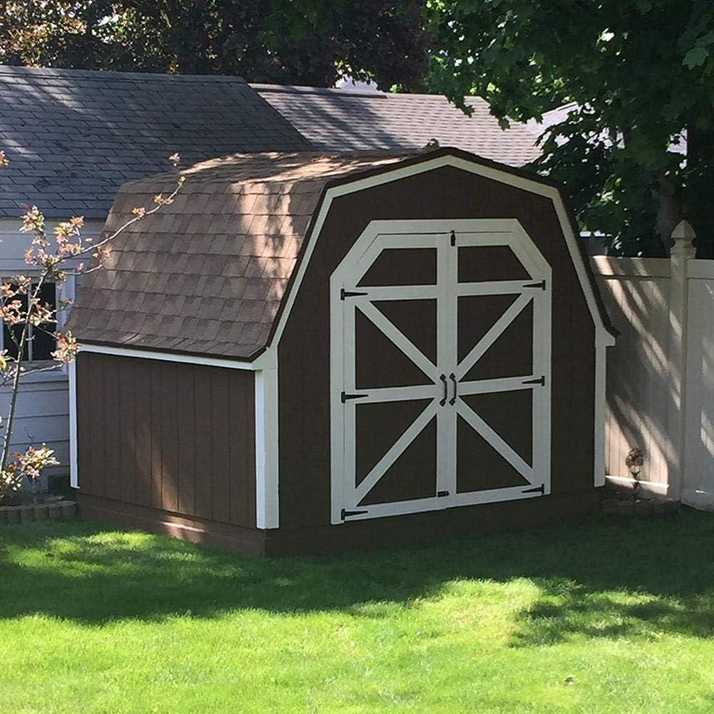 Black IronT Hinges Cabinet Furniture Hinge Garden Shed 3-12 Inch Wooden Door Gate for Light Door Gate Furniture Hardware Color: 10 inch