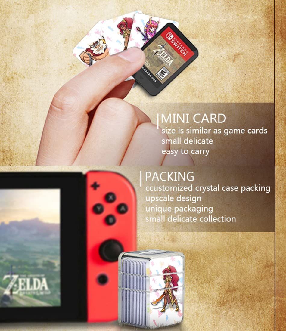 Amazon Com Nfc Tag Game Cards For The Legend Of Zelda Breath Of The