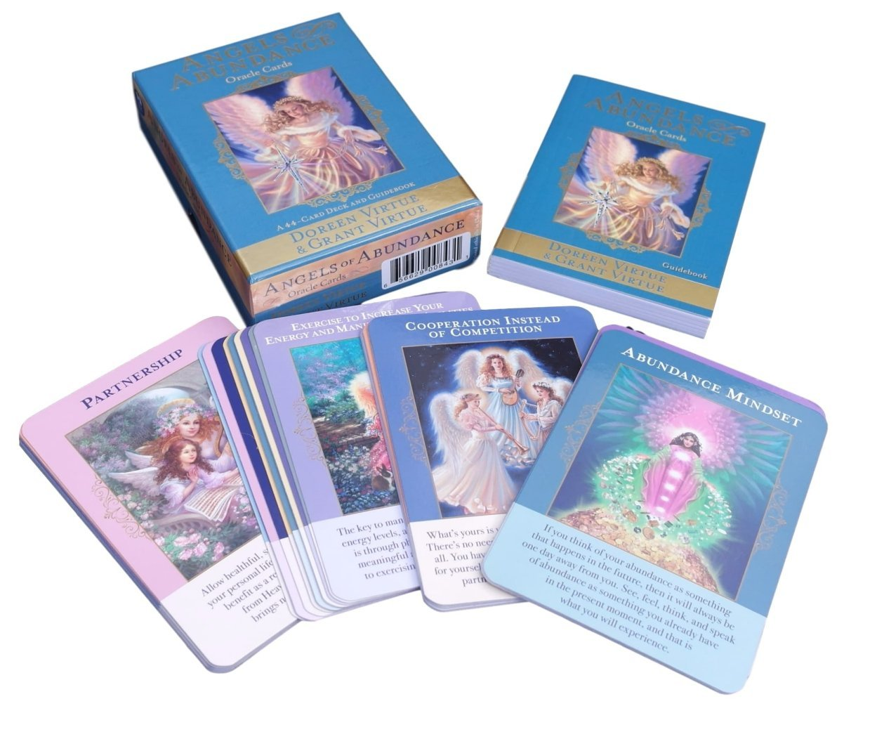 Thorness Angels of Abundance Oracle Cards by Doreen & Grant Virtue