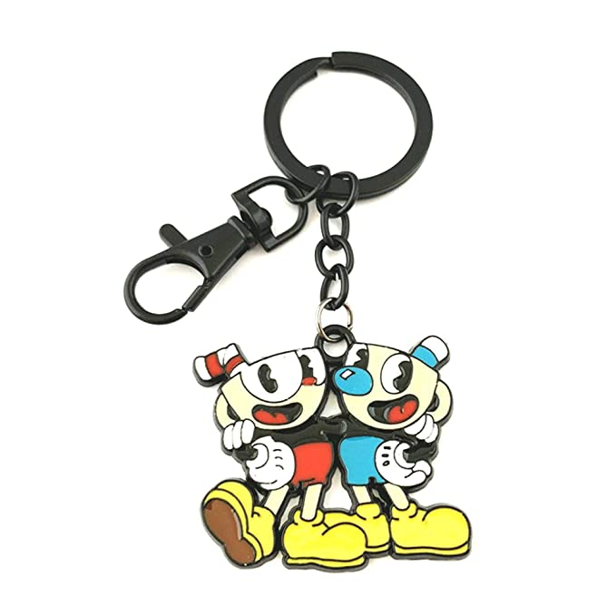 Amazon.com: Cuphead Fashion Novelty - Consola de llavero ...