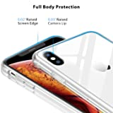 Clear iPhone Xs Case/iPhone X Case, RANVOO Glass