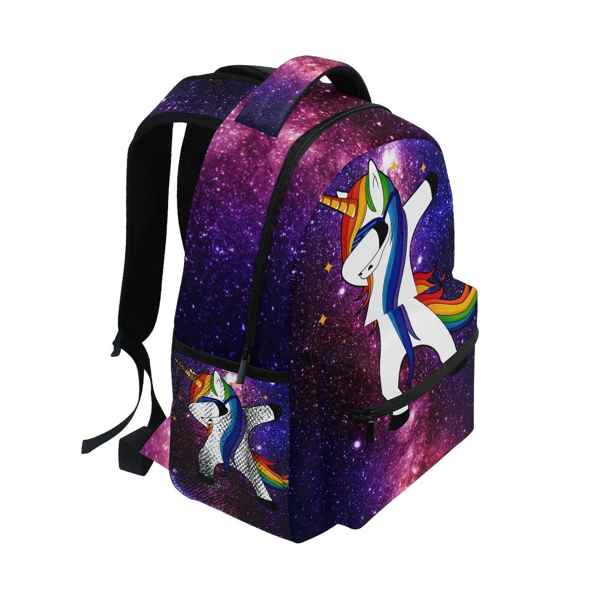 mochila maleta de unicornio