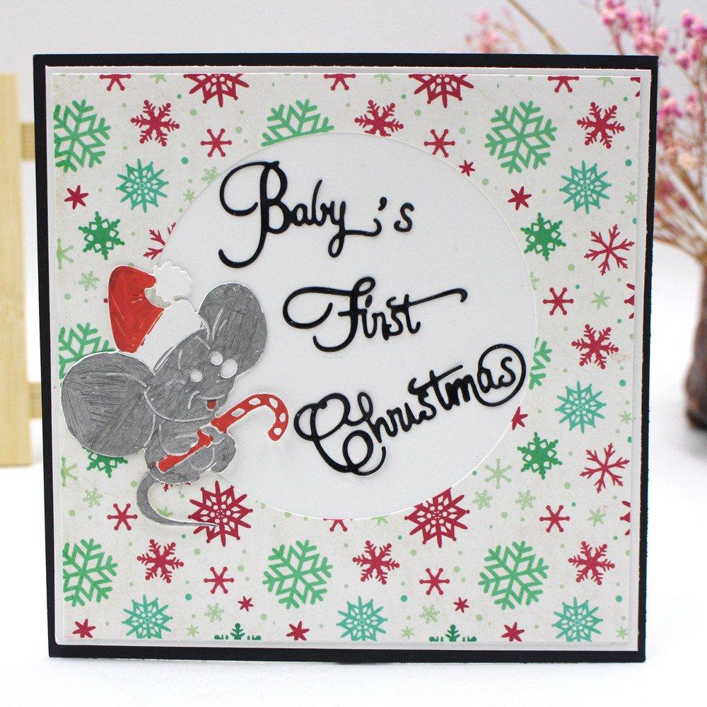 DIPOLA Plantilla de Dibujos para Imprimir con Aerógrafo Pintar en la Pared, para Bricolaje,Álbum de Recortes,Decoración para Hogar y Celebración de Navidad: ...
