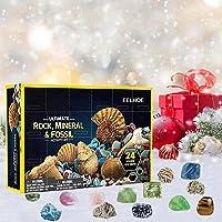 AILIEE 2021 Adventskalender Grappige Vroege Jeugd Onderwijs Speelgoed Geografische Rock Minerale Fossiele Graven…