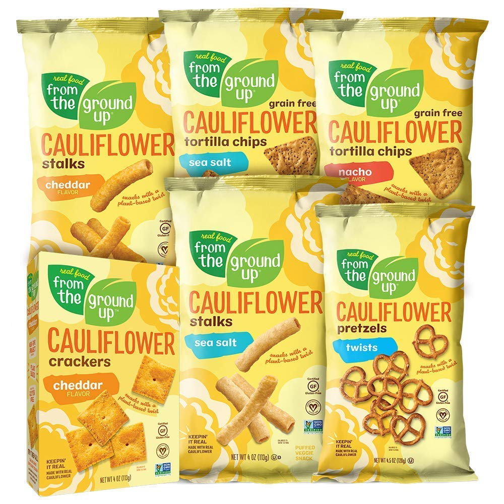 Real Food From the Ground Up Cauliflower Sampler Variety Pack