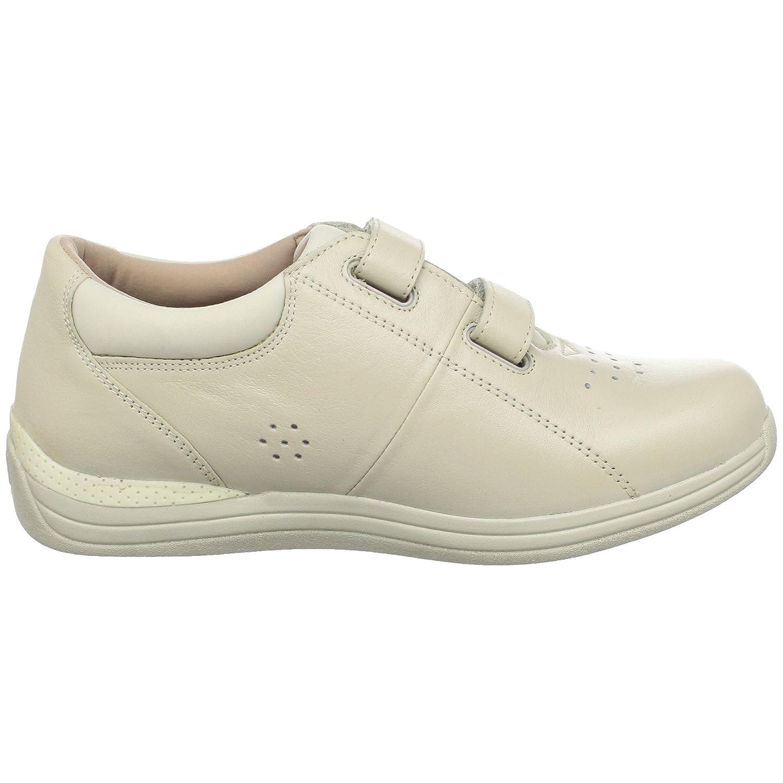 Drew Shoe Women's Lotus Slip On Loafer B0045U361Q 10.5 N US|Bone Calf