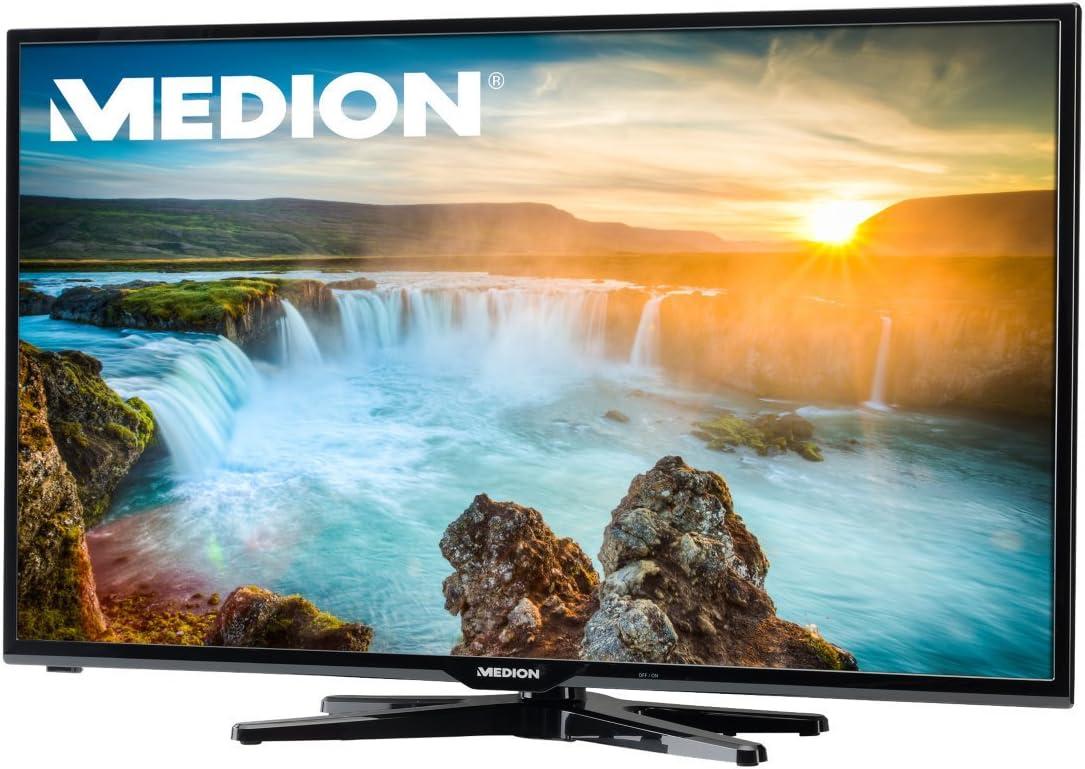 MEDION &apos Life x15016 con retroiluminación LED Smart TV (md30914) 80 cm/31,5, Experiencia de Full HD (1080P), sintonizador HD Triple (DVB-T, DVB-C, DVB-S2), eficiencia energética: A +, Negro: Amazon.es: Electrónica