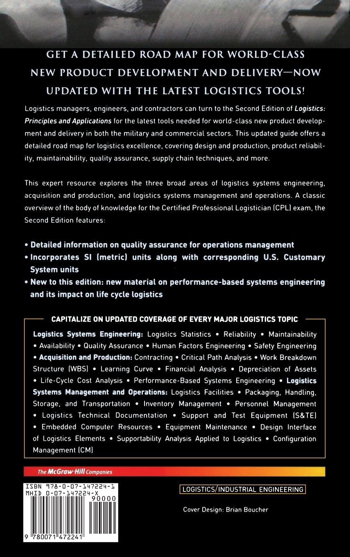 Logistics: Principles and Applications, Second Edition (McGraw-Hill Logistics Series)