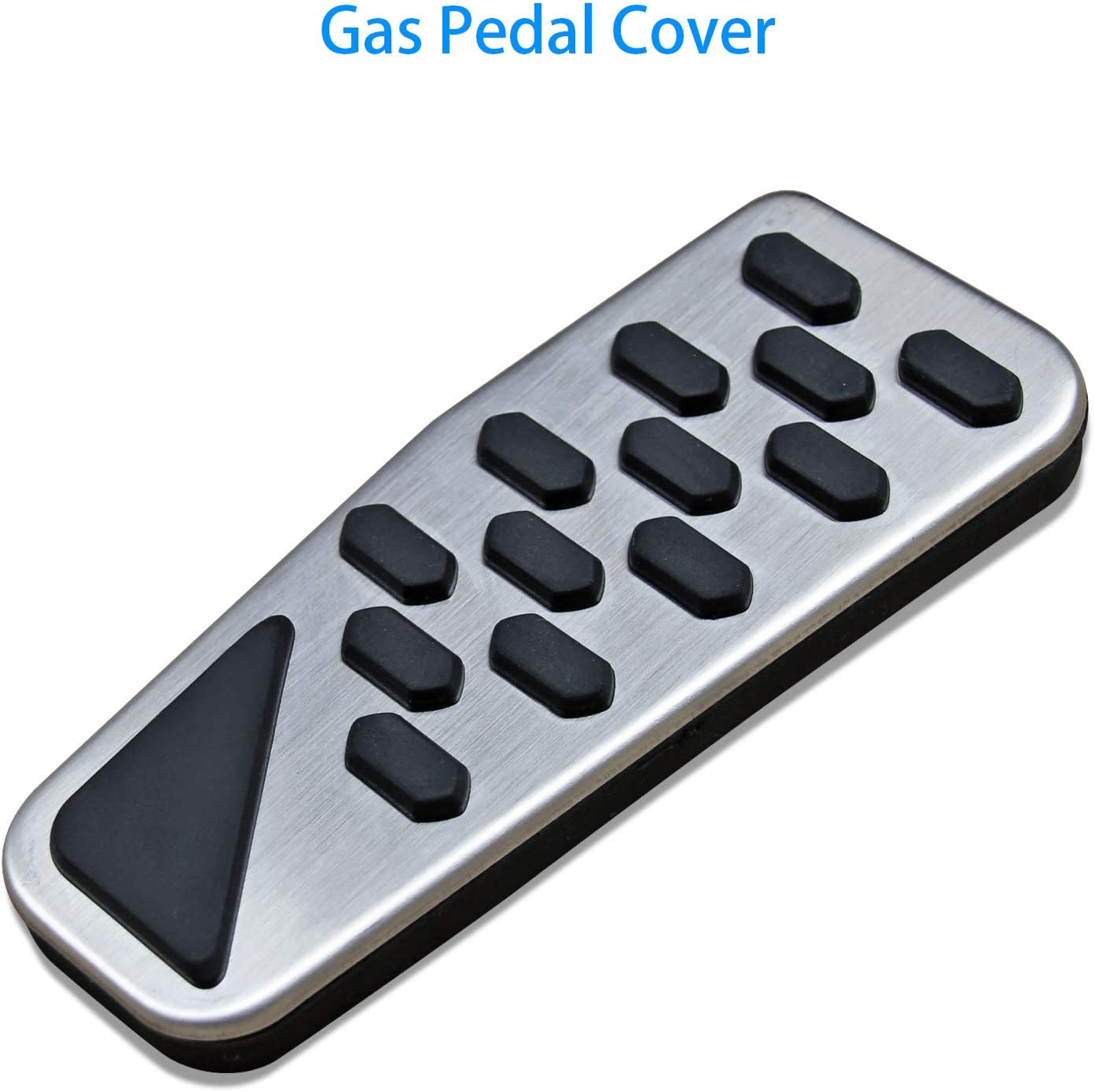 AutoBig Gas Brake Pedal Cover Set for 2019 2020 Jeep Wrangler Gladiator