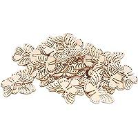 Houten vlinders, houten ambacht Hoge kwaliteit spaanplaat DIY-decoratie Fijn vakmanschap voor kleding voor huisdecoratie