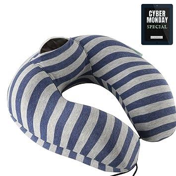 Cuello Apoyo almohada de espuma de memoria por Fomi | caliente y fría unidades incluido para