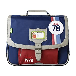 Gsell Cartable T5COC-CA35 Bleu - Tann's Polyester garni synthétique façon cuir