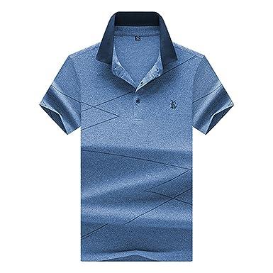 b427c6d6ef1 Richard Nguyen Summer Short Sleeve Polo s Men s Polo Shirs Fashion Printing  Polo Shirt ...