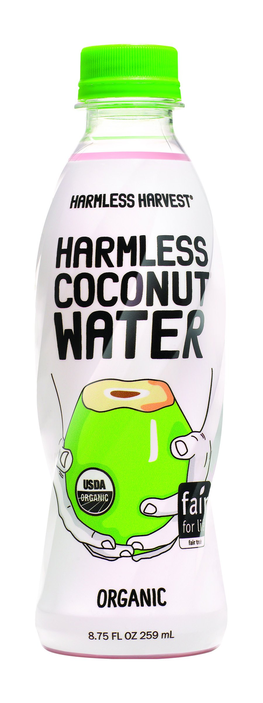 Harmless Harvest Coconut Water, 8.75 Ounce (Pack of 12)