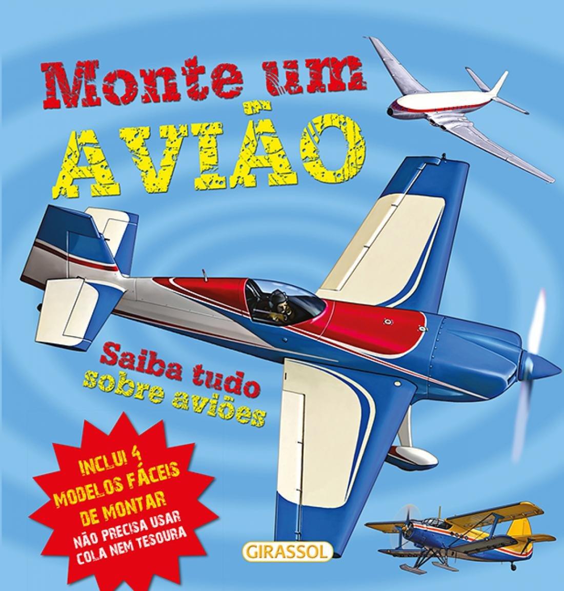 Monte Um Avião 4 Modelos Fáceis De Montar Hibbert Clare