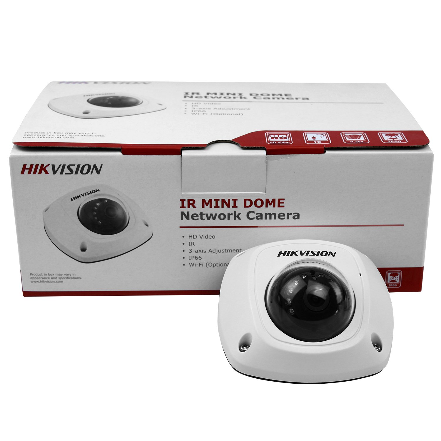 -6mm S557498900004##wh=19 HIKVISION DS-2CD2542FWD-IS 4MP WDR Mini Dome IP Camera PoE 10m IR Waterproof Detection Motion Plug and Play Built-in Microphone Audio Output