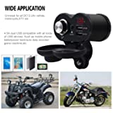 Twinto USB Charger Adapter,Motorcycle 5V/3A