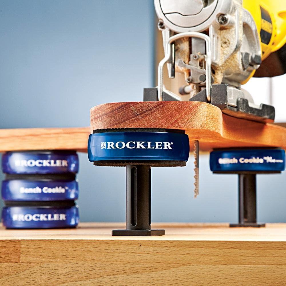Pckg 3 x 1 Zoll 76 x 25 mm 4er Bench Cookie/ª Werkst/ückauflagen