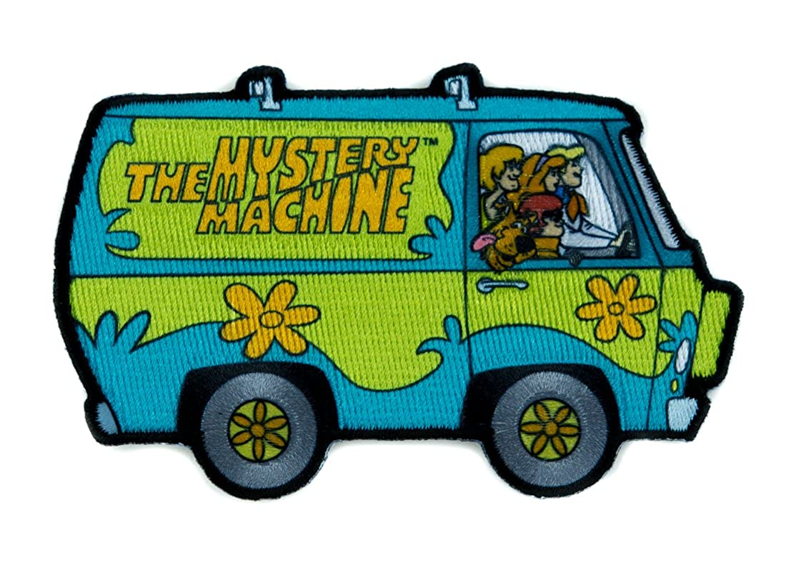 Scooby-Doo Mystery Machine Patch Iron on Applique Hanna Barbera Alternative Clothing