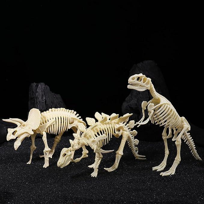 TOYMYTOY 4D Dinosaur Skeleton Fossil Digging Toys Dinosaur Bones Toy for Kids Boys Girls
