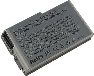 New Laptop Battery for Dell Latitude D600 D505 D610 D520 D500 D510 D530 / Inspiron 600M, fits P/N C1295 6Y270 3R305