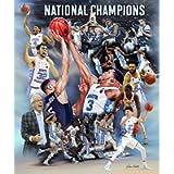 Wishum Gregory Redemption: 2017 UNC Tarheel Basketball National Champions Commemorative Art Print