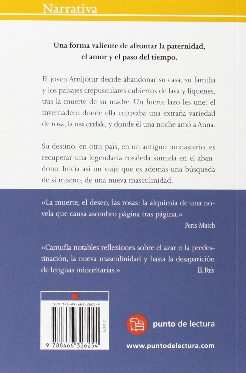 Rosa candida (Narrativa (Punto de Lectura)) (Spanish Edition): Audur Ava Olafsdottir: 9788466326254: Amazon.com: Books