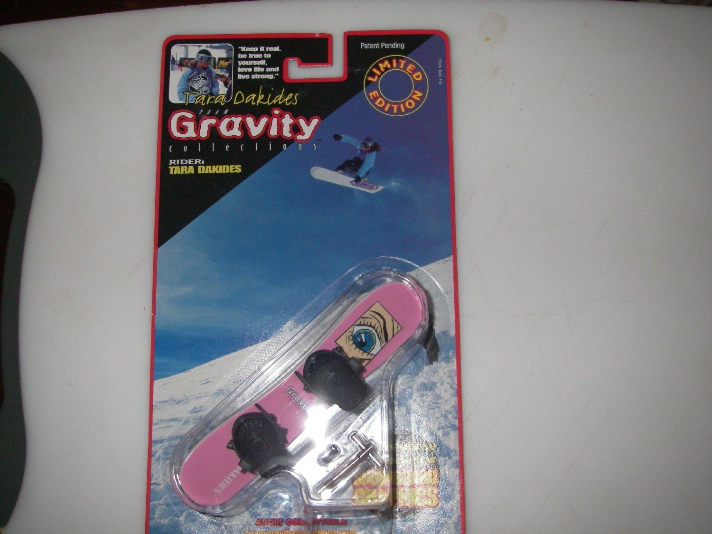 Team Gravity Finger Snowboard Girl Rider