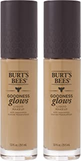 product image for Burts Bees Goodness Glows Liquid Makeup, Warm Honey - 1.0 Ounce (Pack of 2)