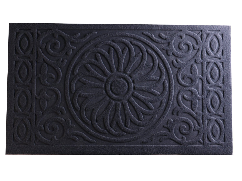 Bekith Indoor Outdoor Doormat Entrance Rug Wiper Floor Mat, Non Slip Rubber Backing, 29'' Length x 17'' Width