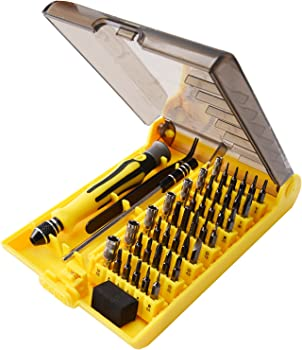 JACKYLED 45 in 1 Precision Screwdriver Tool Kit