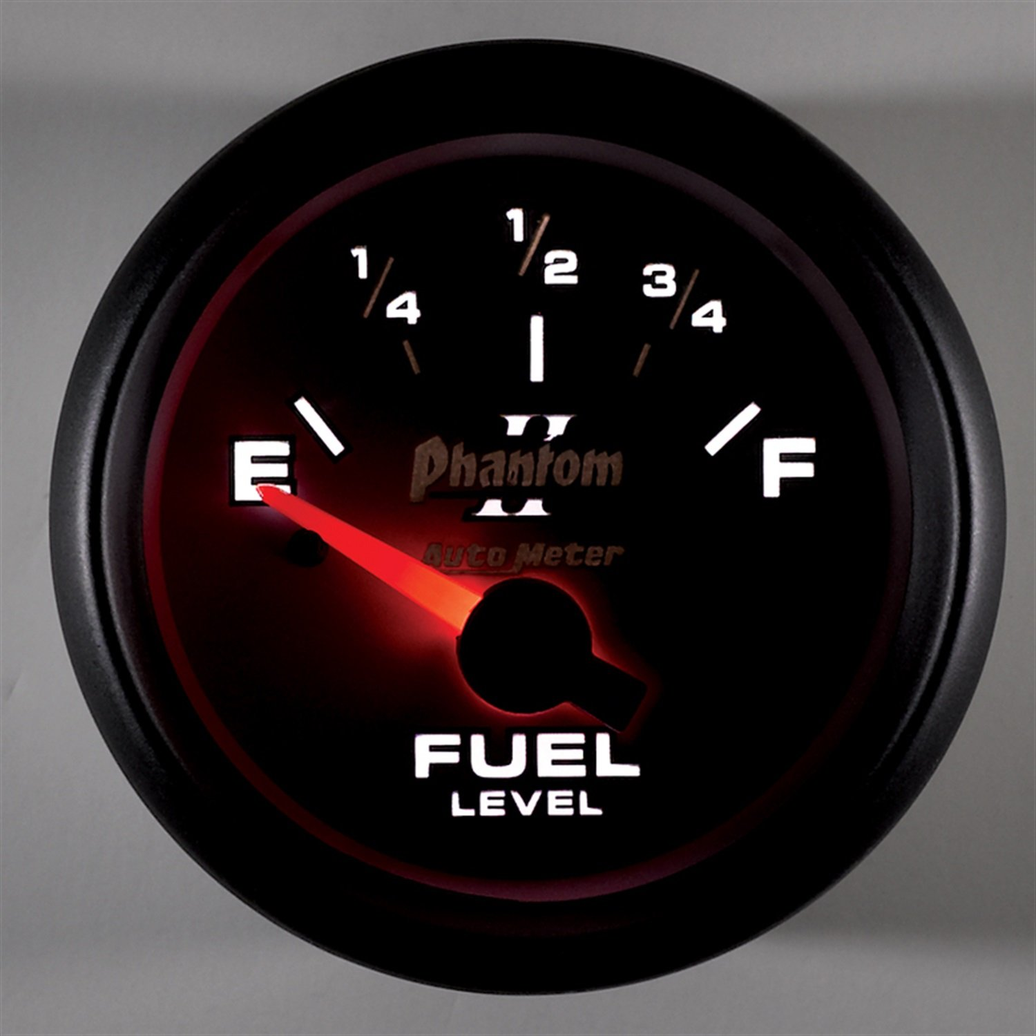 Auto Meter 7513 Phantom II 2-1//16 0-90 ohms Short Sweep Electric Fuel Level Gauge for GM