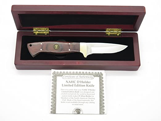 Amazon.com: D holder cuchillo de mesa de de hoja fija de ...